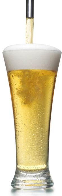 servir sa bière